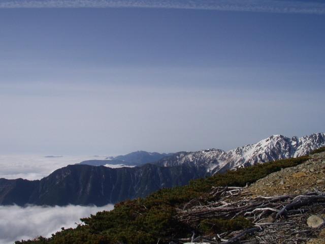 南アルプス-北岳(夜叉神・池山吊尾根)H16・5・1~5・3③ 029