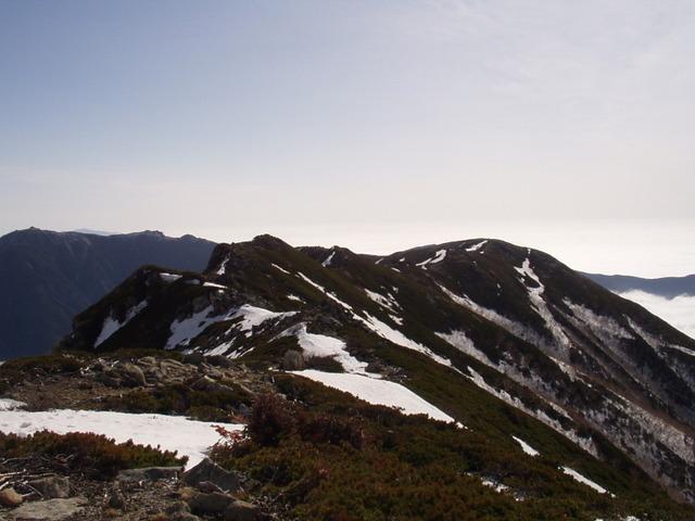 南アルプス-北岳(夜叉神・池山吊尾根)H16・5・1~5・3③ 042