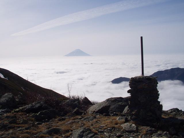 南アルプス-北岳(夜叉神・池山吊尾根)H16・5・1~5・3③ 038