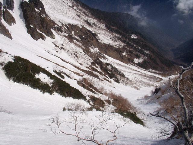 南アルプス-北岳(夜叉神・池山吊尾根)H16・5・1~5・3③ 047