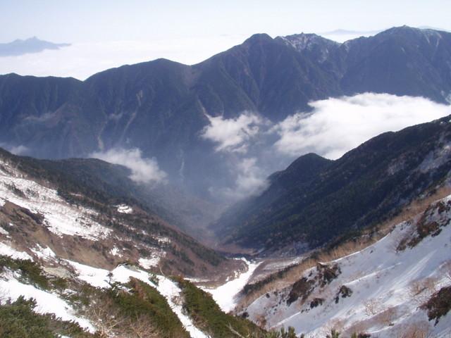 南アルプス-北岳(夜叉神・池山吊尾根)H16・5・1~5・3③ 056