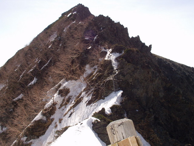 南アルプス-北岳(夜叉神・池山吊尾根)H16・5・1~5・3③ 053