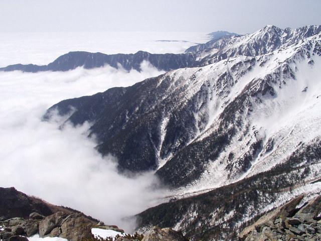 南アルプス-北岳(夜叉神・池山吊尾根)H16・5・1~5・3③ 062
