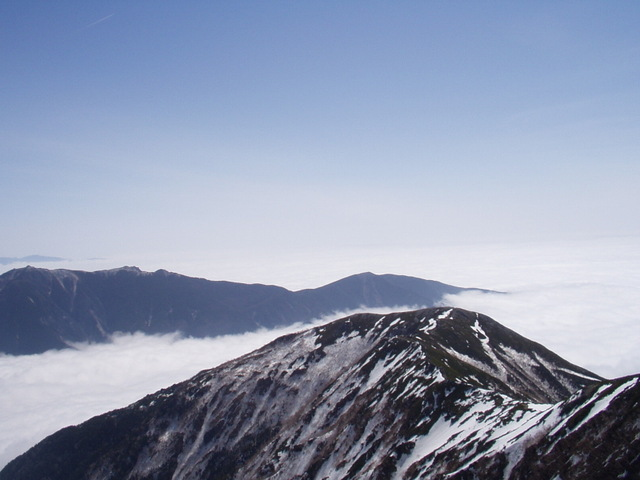 南アルプス-北岳(夜叉神・池山吊尾根)H16・5・1~5・3③ 071