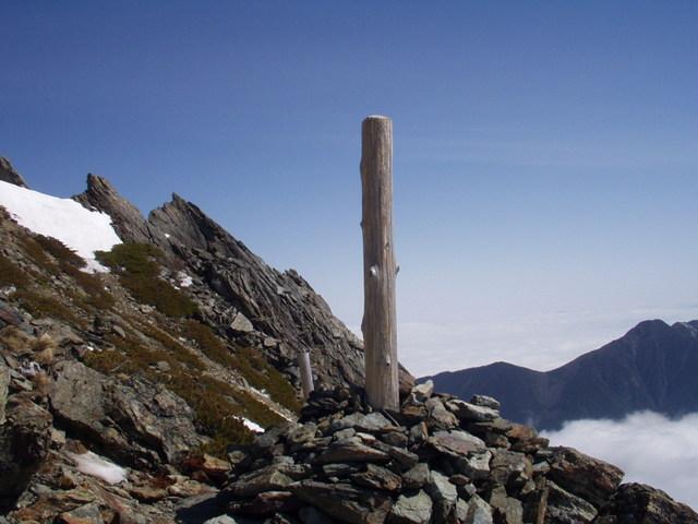 南アルプス-北岳(夜叉神・池山吊尾根)H16・5・1~5・3③ 063