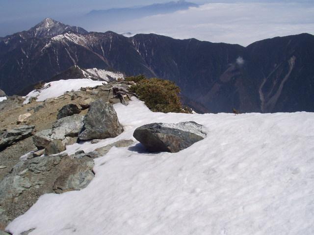 南アルプス-北岳(夜叉神・池山吊尾根)H16・5・1~5・3 014