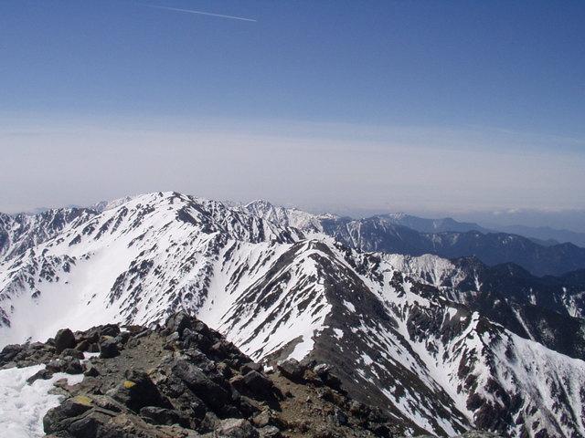 南アルプス-北岳(夜叉神・池山吊尾根)H16・5・1~5・3 009