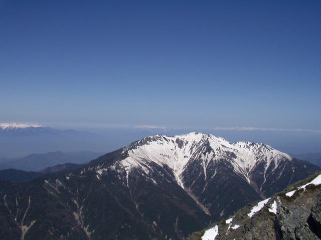 南アルプス-北岳(夜叉神・池山吊尾根)H16・5・1~5・3② 011