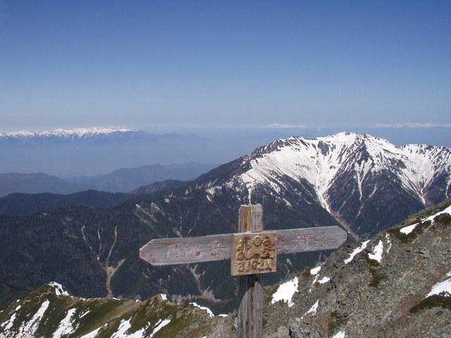 南アルプス-北岳(夜叉神・池山吊尾根)H16・5・1~5・3② 022
