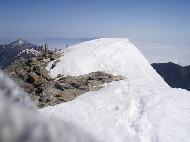 南アルプス-北岳(夜叉神・池山吊尾根)H16・5・1~5・3② 017