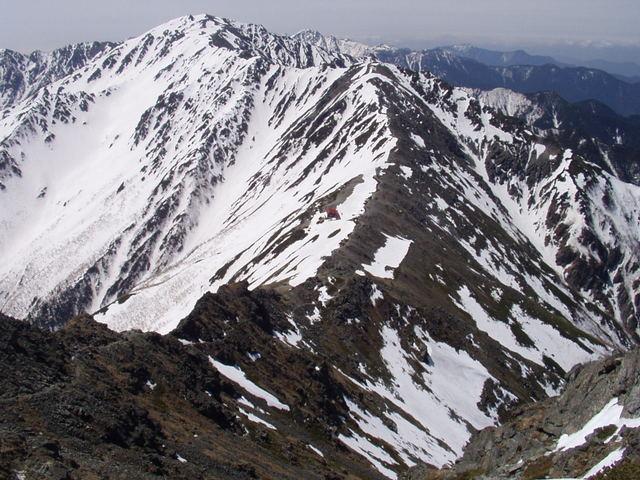 南アルプス-北岳(夜叉神・池山吊尾根)H16・5・1~5・3 018