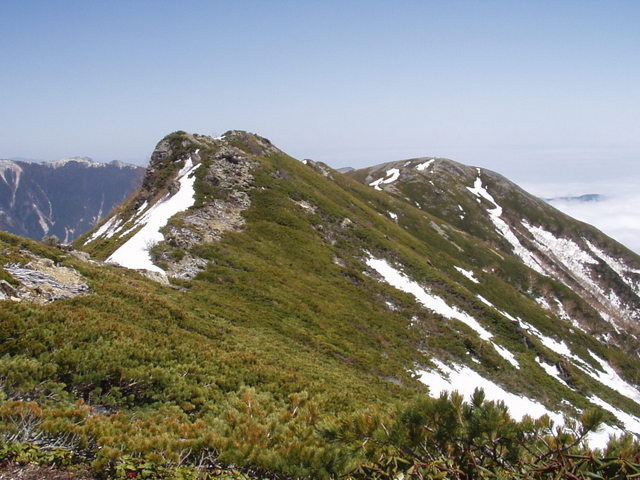 南アルプス-北岳(夜叉神・池山吊尾根)H16・5・1~5・3 026
