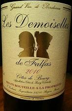 LES DEMOISRLLES DE FALGAS 2010