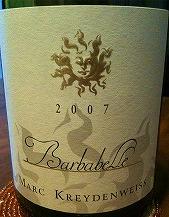 BARBABELLE 2007 MARC KREYDENWEISS