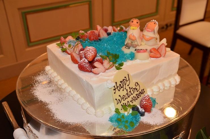 ウエディングケーキ2