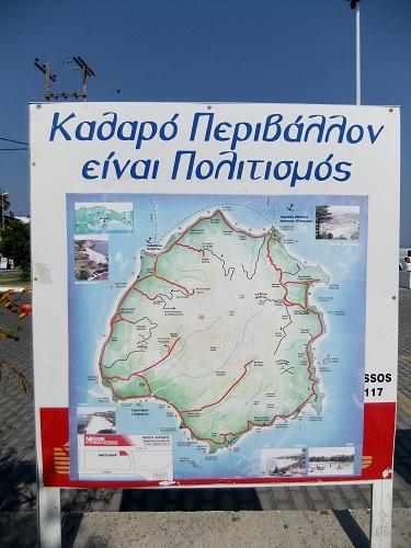 タソスの地図