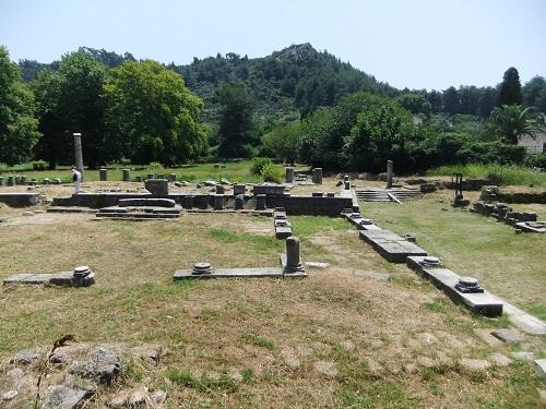 タソス_リメナスの古代アゴラ (2)