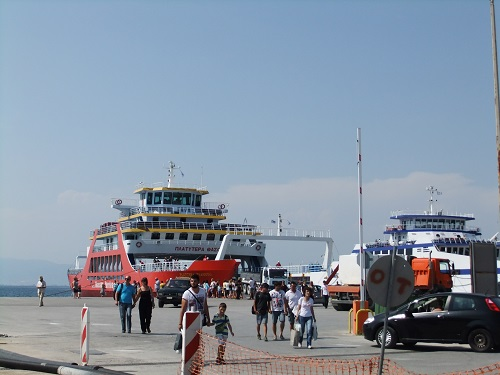タソス_リメナスの港