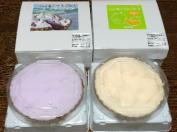 ふらの雪どけチーズケーキ 限定ラベンダー、メロン