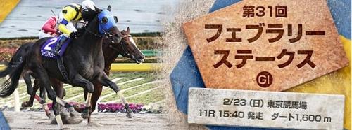 【予想の】フェブラリーステークス(GI) 東京D1600m【ご参考に】