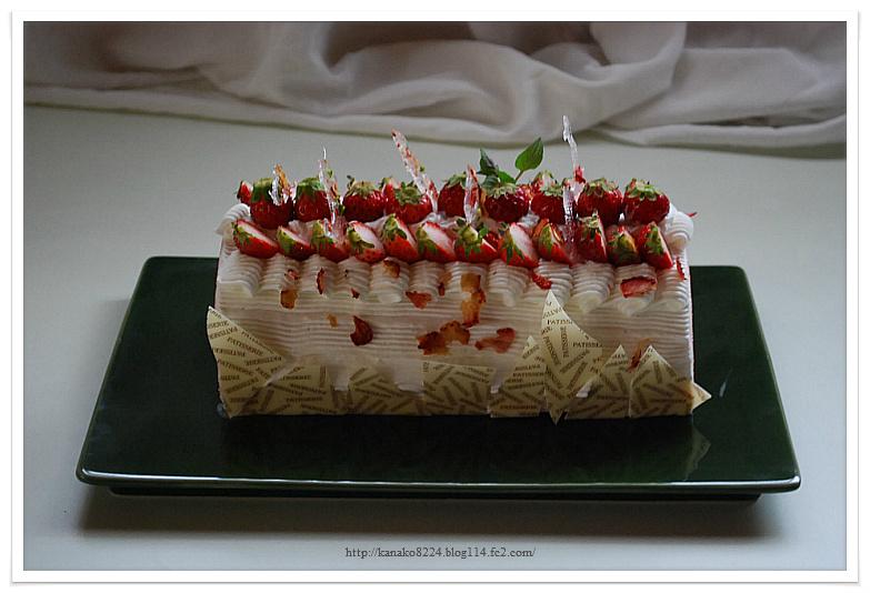 苺と桜のロールケーキ 119