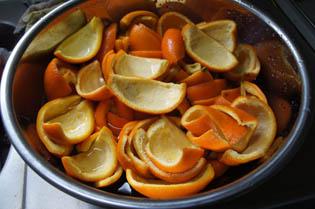 オレンジ 皮