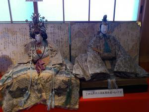 250年前の雛人形