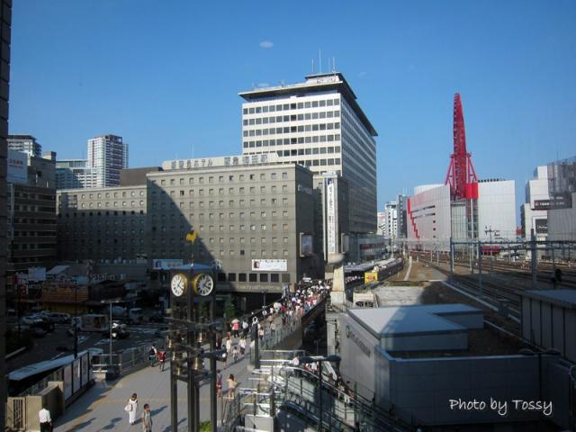 阪急電車への通路
