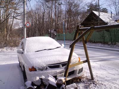 H25,12ウイングロード雪