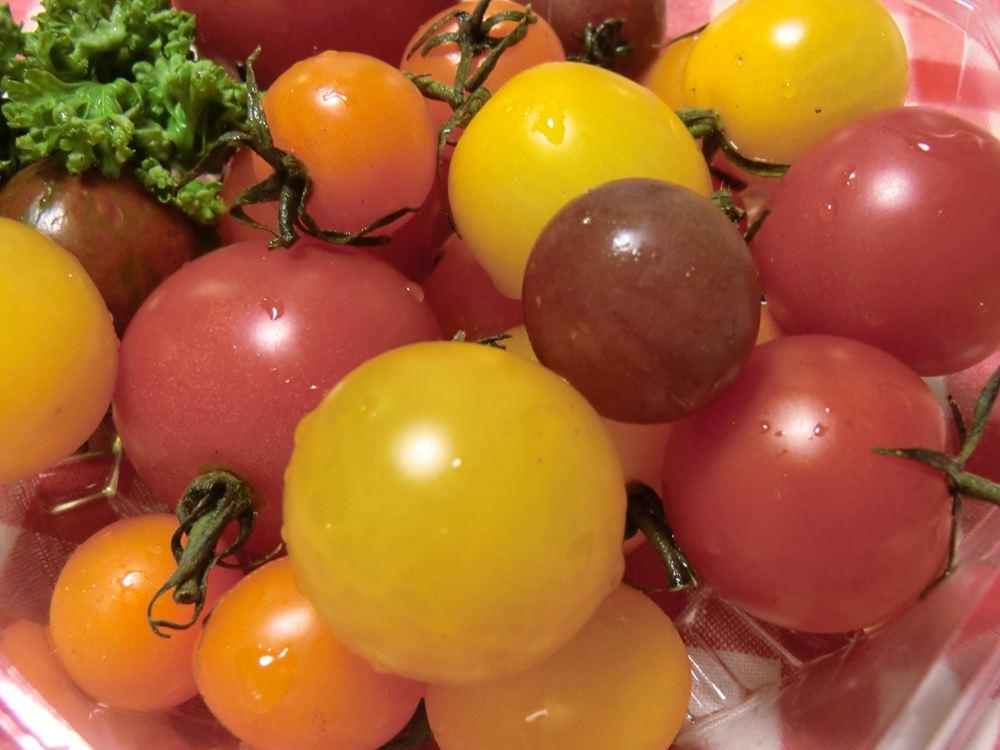 カラフルなトマト♪