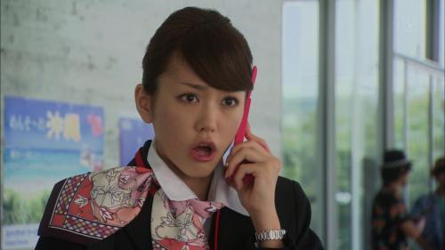 桐谷美玲のドラマキャプチャ画像 CAコス