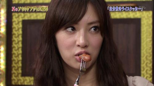 北川景子のソーセージエロ食いキャプチャ画像