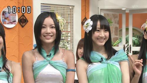 SKE48ダブル松井キャプチャ画像