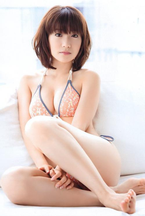 AKB48大島優子の水着グラビア画像