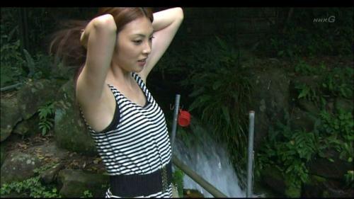 田中麗奈の腋みせお宝キャプチャ画像 ワキフェチ用