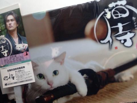 猫侍前売り券