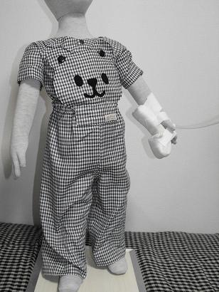 くまさんパジャマ正面