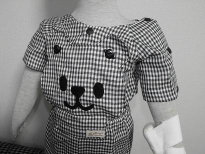 くまさんパジャマ 胸
