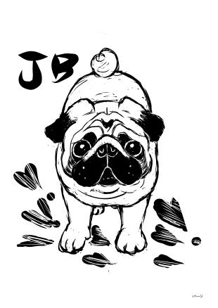 版画風JB