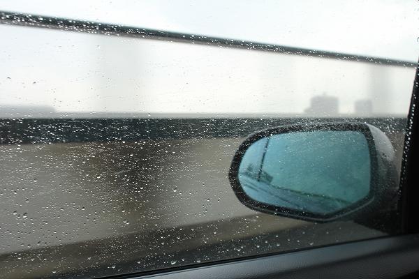 メッチャ雨です