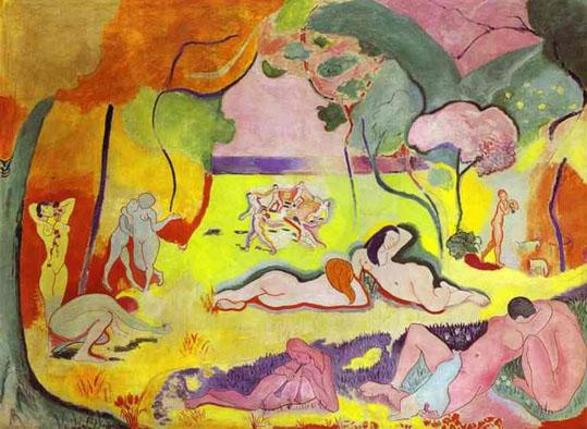 Matisse Le bonheur de vivre 1905-190