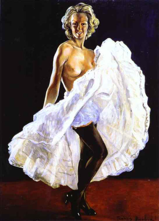 Francis Picabia - Dancer of French Cancan (La danseuse de french-cancan)