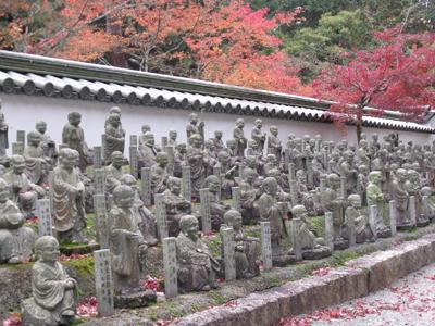 羅漢庭の羅漢像