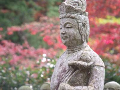 羅漢庭の羅漢ボスキャラ像