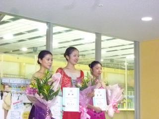 神戸ライフ:女子表彰式