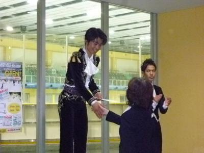 神戸ライフ:近畿ブロック表彰式:町田くん