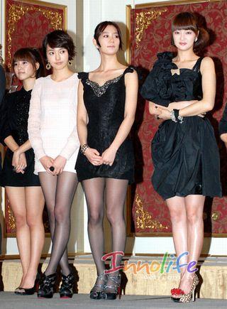 2010.1.27「制作発表会」ソウル市インベリアルバレスホテル:女優陣