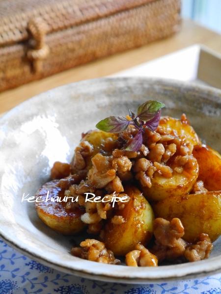 ジャガイモのソース煮
