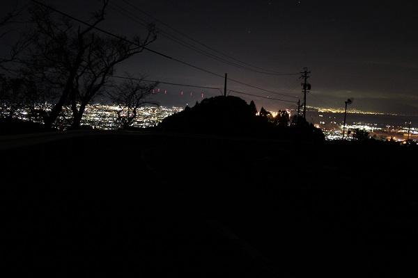 日本平から清水の夜景