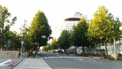 大阪マラソンスタート地点20140926